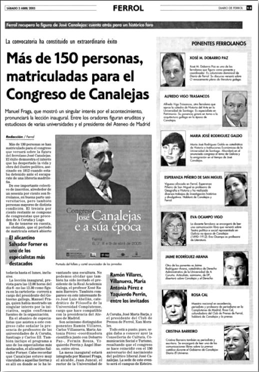 Congreso Canalejas 2005