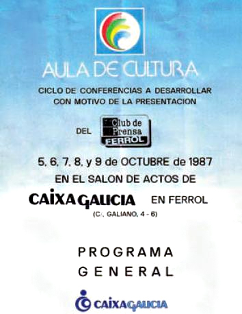 Primer ciclo conferencias