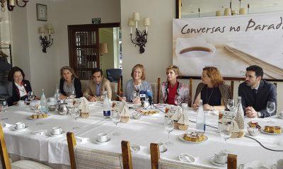 Conversas no Parador Nava Castro