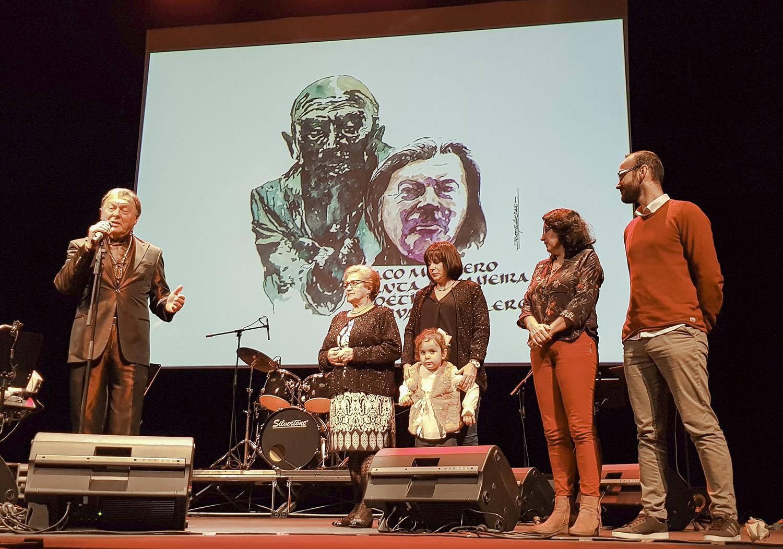 Paco Montero presentación Lumieira de Carvalho Calero