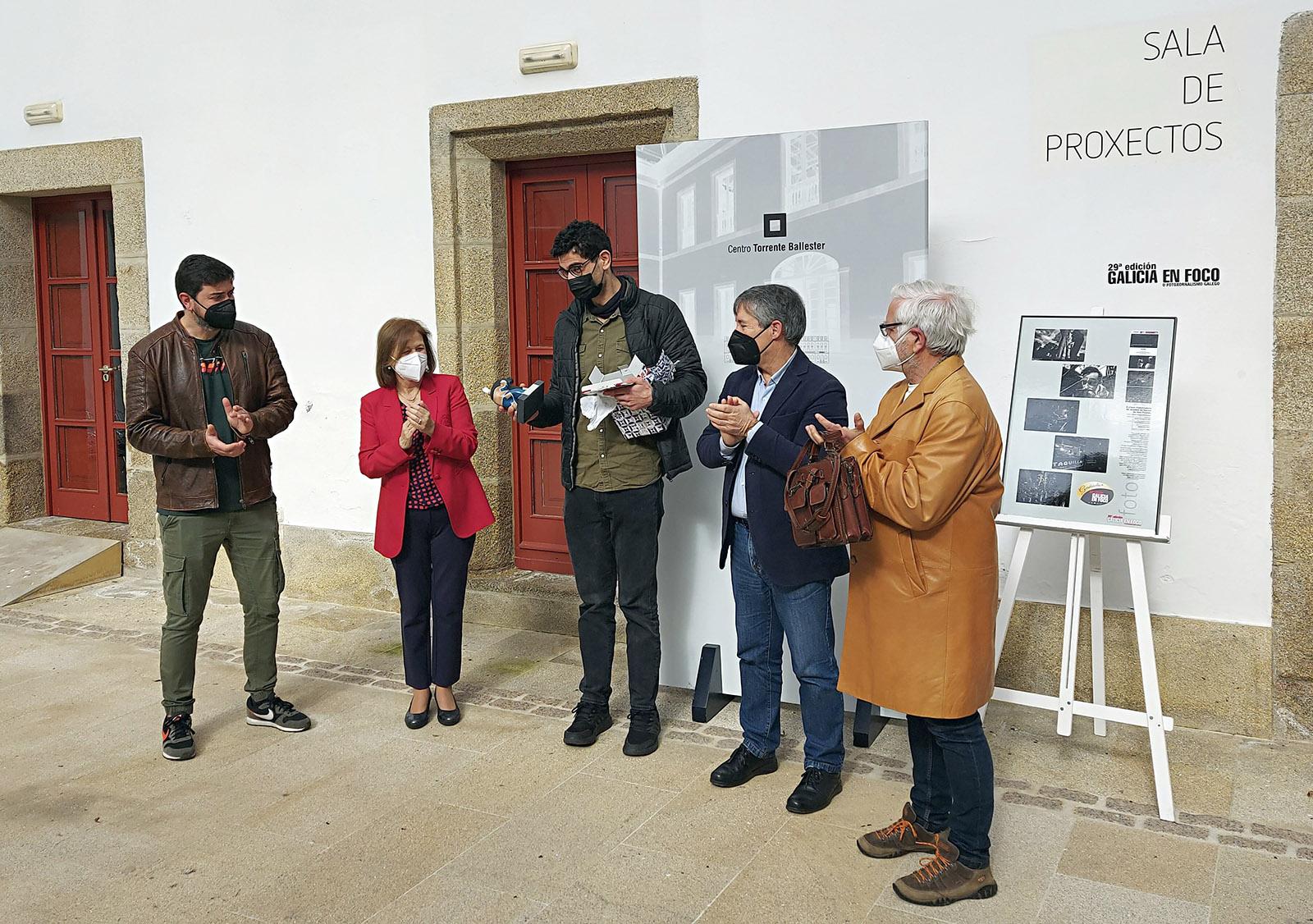 O foto-xornalista Adra Pallón, recibe o Premio Galicia en Foco 2021