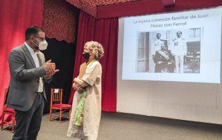 Presentación do libro Juan Florez. El Ferrolano que dejó atrás la Marola. Ángel Mato e Mercedes Puyol