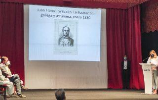 Presentación do libro Juan Florez. El Ferrolano que dejó atrás la Marola. Intervención de Ana Lamas